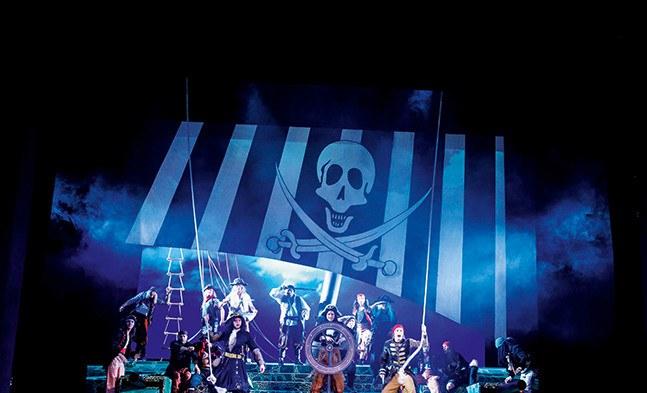 Piraten Juche! Die wilden Kerle auf großer Fahrt.
