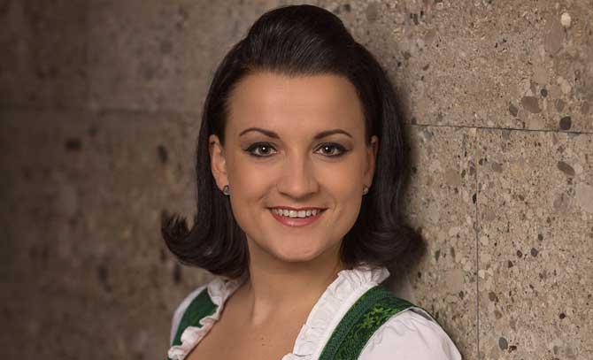Die Sopranistin Theresa Grabner