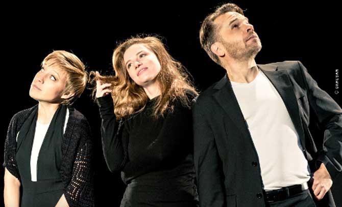 Evelyn Ruzicka, Michaela Schausberger und Alexander Kuchinka bringen ein amüsantes musikalisches Ringelspiel an die Bühne Baden.