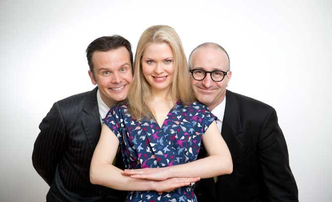 In der Matinee mit Katrin Fuchs, Andreas Sauerzapf und Robert Kolar geht es ins Tröpferlbad.