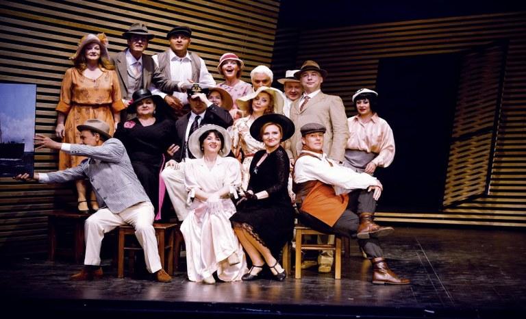 Der Chor der Bühne Baden