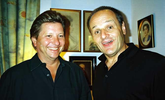 Benno Schollum und Stephan Paryla-Raky präsentieren Wilhelm Busch in Wort und Ton.