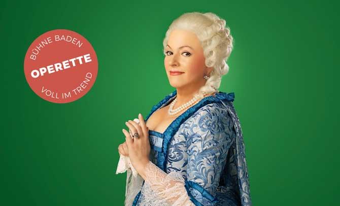 """""""Was ich will,das will ich richtig."""" Miriam Portmann in der Titelrolle der Kaiserin Maria Theresia."""