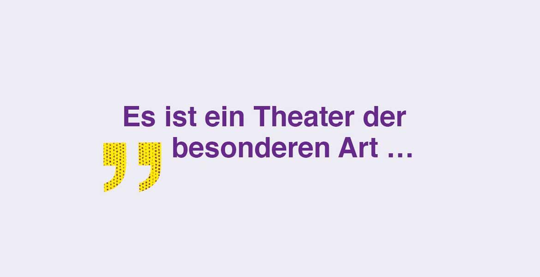 Mit einem Theater der besonderen Art von Árpád Schilling gastiert das Landestheater Niederösterreich an der Bühne Baden.