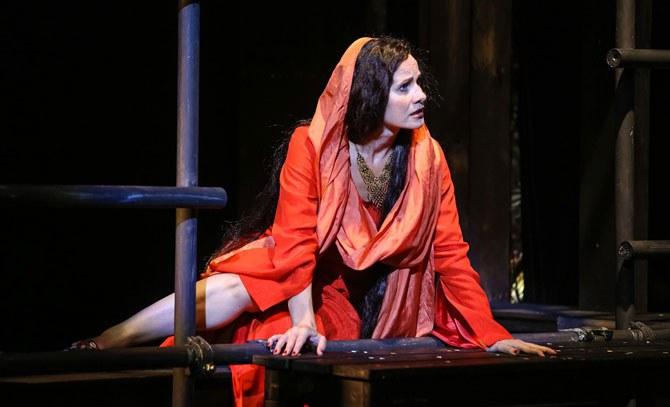 Karin Seyfried ist eine hinreißende Maria Magdalena in der Wiederaufnahme des Erfolgsmusicals von Andrew Lloyd Webber. © Christian Husar