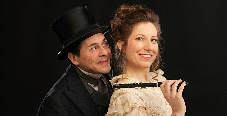 Simona Eisinger und Beppo Binder in einem heiteren Operettenklassiker von Oscar Straus.