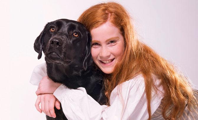 Ein Musicalhit für die ganze Familie! Das Waisenmädchen Annie macht sich mit ihrem Hund Sandy auf die Suche nach ihren Eltern.  © Bühne Baden