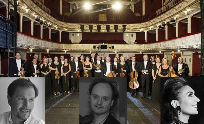 Das Orchester der Bühne Baden eröffnet die Sommersaison 2015 mit Werken von Gustav Mahler. Bühne Baden