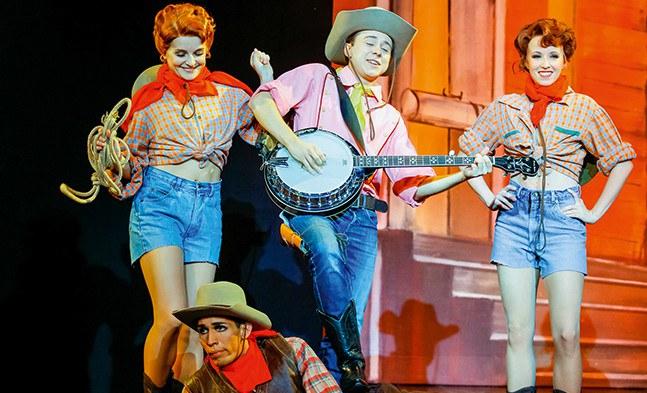 Westlich von Santa Fe: Julia Obertscheider, Martin Fischerauer, Natalia Bolzer und Tiago Augusto Mendes Silva.