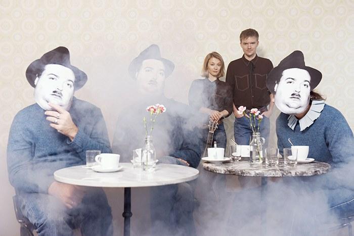 © Alexi Pelekanos |  Michael Scherff, Tobias Artner, Navid Djawadi, Wiener Blond Sebastian Radon, Verena Doublier, Hanna Binder