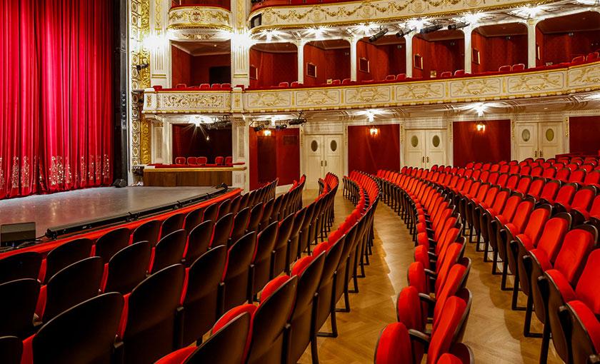 Das Stadttheater Baden mit neuer Bestuhlung 2017. © Christian Husar